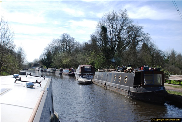 2017-03-25 On the Grand Union Canal near Uxbridge, Middlesex.  (43)205