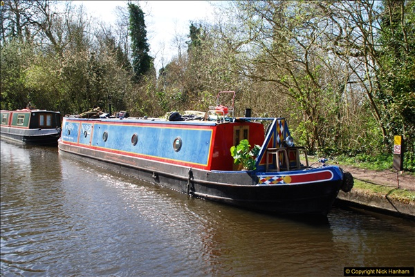 2017-03-25 On the Grand Union Canal near Uxbridge, Middlesex.  (44)206