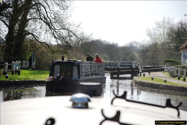 2017-03-25 On the Grand Union Canal near Uxbridge, Middlesex.  (45)207