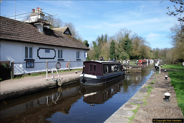 2017-03-25 On the Grand Union Canal near Uxbridge, Middlesex.  (47)209