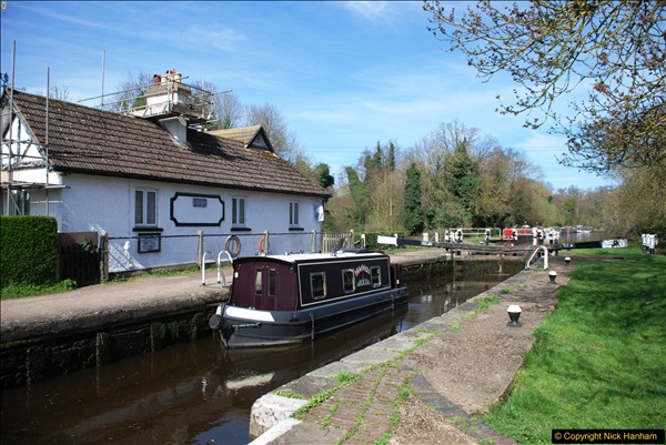 2017-03-25 On the Grand Union Canal near Uxbridge, Middlesex.  (48)210