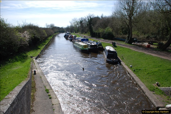 2017-03-25 On the Grand Union Canal near Uxbridge, Middlesex.  (51)213