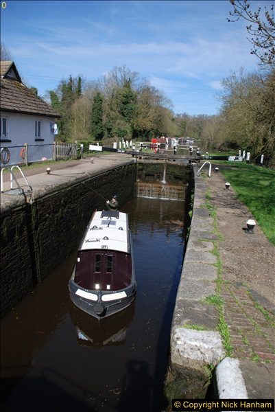 2017-03-25 On the Grand Union Canal near Uxbridge, Middlesex.  (54)216