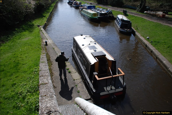 2017-03-25 On the Grand Union Canal near Uxbridge, Middlesex.  (57)219
