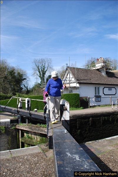 2017-03-25 On the Grand Union Canal near Uxbridge, Middlesex.  (58)220