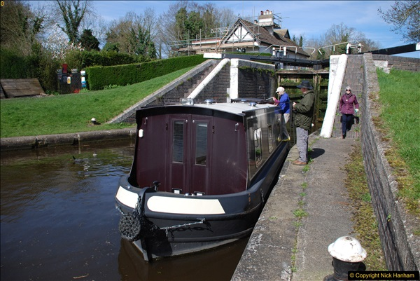 2017-03-25 On the Grand Union Canal near Uxbridge, Middlesex.  (59)221