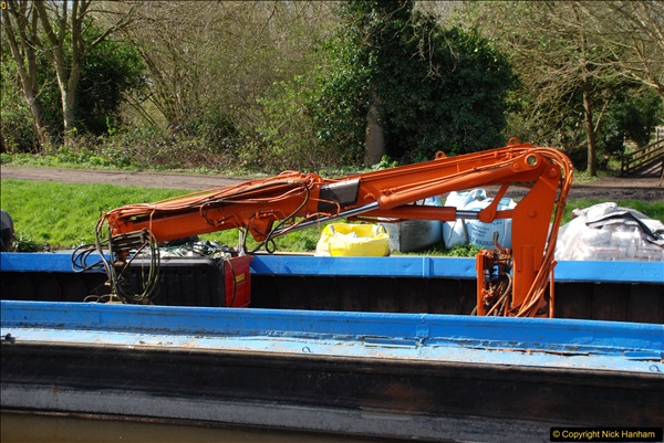 2017-03-25 On the Grand Union Canal near Uxbridge, Middlesex.  (62)224