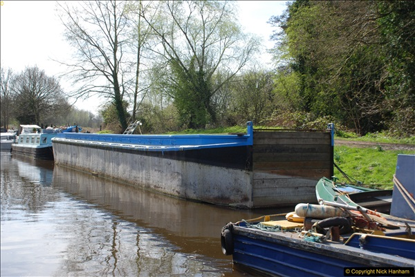 2017-03-25 On the Grand Union Canal near Uxbridge, Middlesex.  (63)225