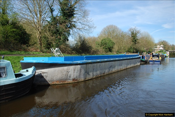 2017-03-25 On the Grand Union Canal near Uxbridge, Middlesex.  (66)228