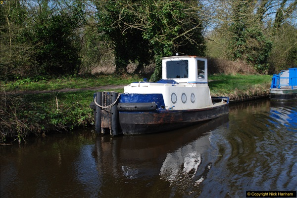 2017-03-25 On the Grand Union Canal near Uxbridge, Middlesex.  (68)230