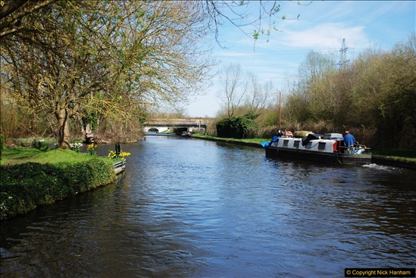 2017-03-25 On the Grand Union Canal near Uxbridge, Middlesex.  (74)236