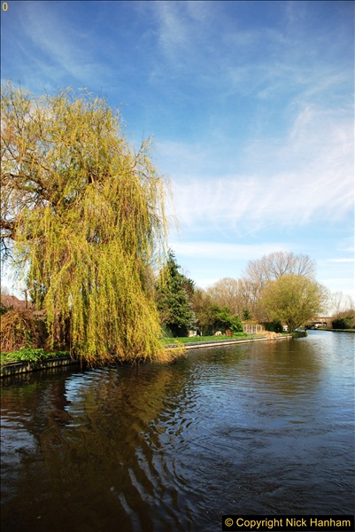 2017-03-25 On the Grand Union Canal near Uxbridge, Middlesex.  (75)237