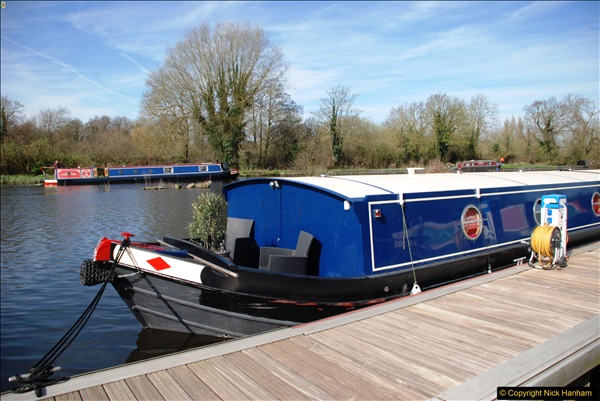 2017-03-25 On the Grand Union Canal near Uxbridge, Middlesex.  (8)170
