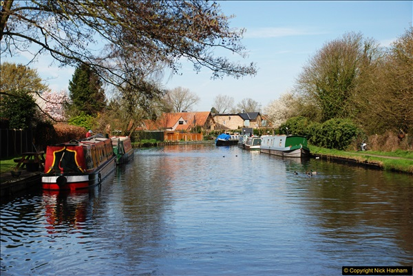 2017-03-25 On the Grand Union Canal near Uxbridge, Middlesex.  (85)247
