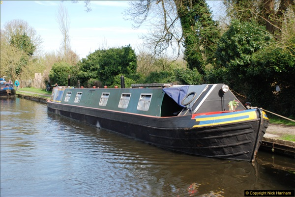 2017-03-25 On the Grand Union Canal near Uxbridge, Middlesex.  (87)249