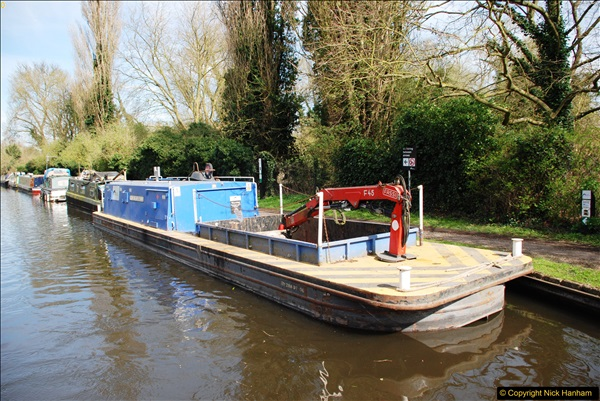 2017-03-25 On the Grand Union Canal near Uxbridge, Middlesex.  (89)251