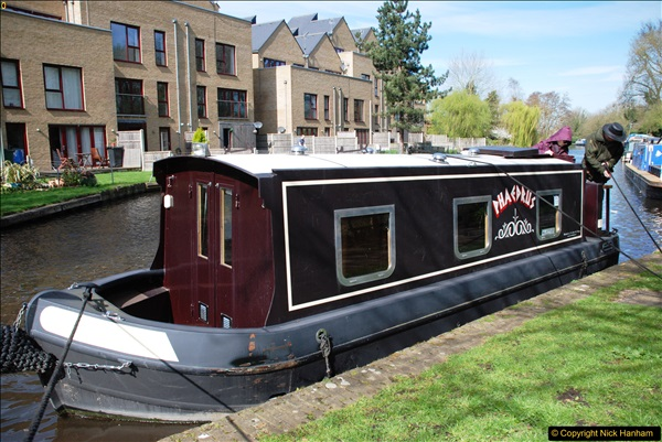 2017-03-25 On the Grand Union Canal near Uxbridge, Middlesex.  (90)252
