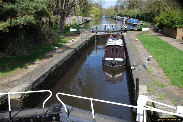 2017-03-25 On the Grand Union Canal near Uxbridge, Middlesex.  (94)256