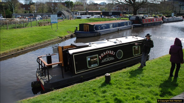 2017-03-25 On the Grand Union Canal near Uxbridge, Middlesex.  (99)261