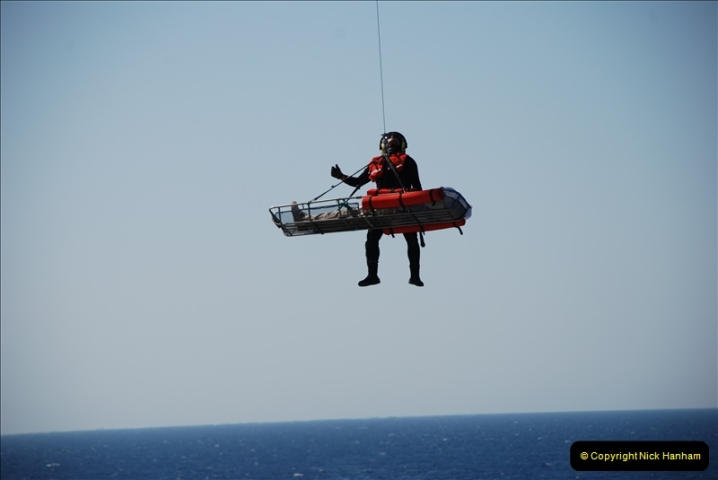 2008-09-29 Air Sea rescue from MV Bodicca for a passenger to Portugal. (21)519