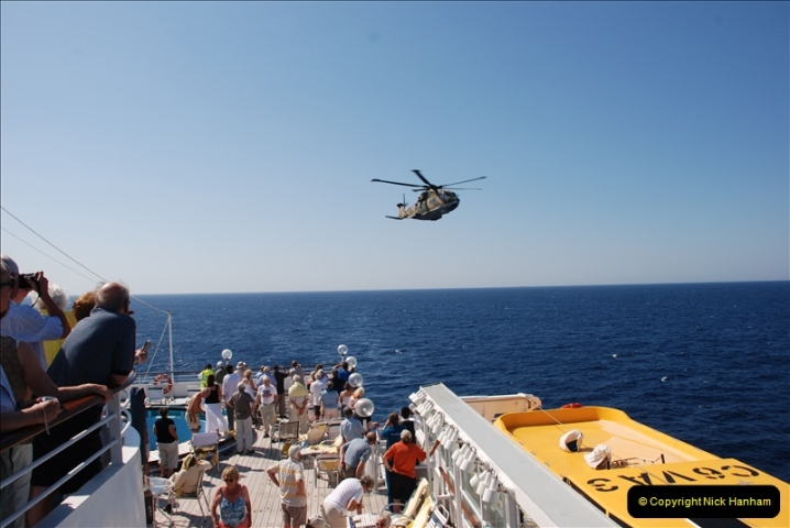 2008-09-29 Air Sea rescue from MV Bodicca for a passenger to Portugal. (37)535
