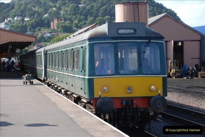 2009-08-20 The West Somerset Railway.  (66)66