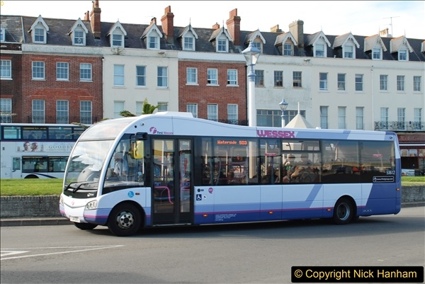 2017-09-22 X54 Bus to Weymouth.  (282)282