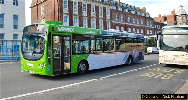 2017-09-22 X54 Bus to Weymouth.  (284)284