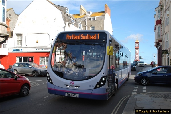 2017-09-22 X54 Bus to Weymouth.  (322)322