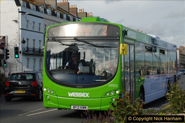 2017-09-22 X54 Bus to Weymouth.  (327)327