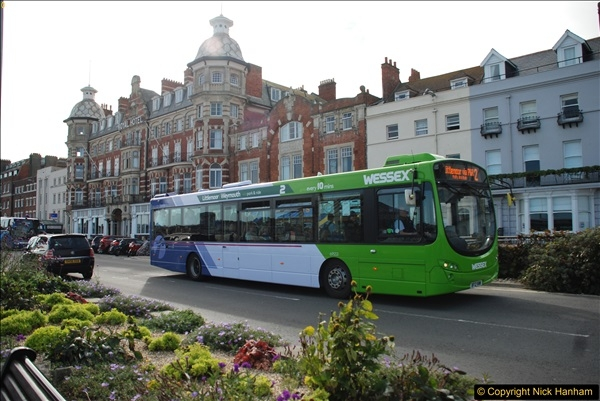 2017-09-22 X54 Bus to Weymouth.  (332)332