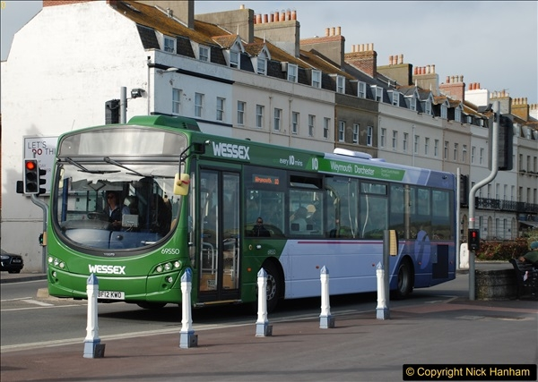 2017-09-22 X54 Bus to Weymouth.  (333)333