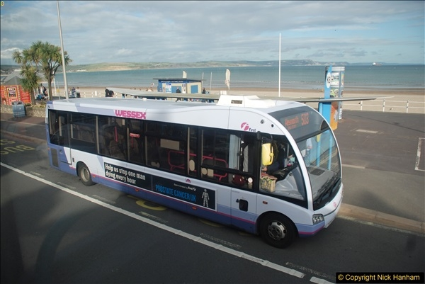 2017-09-22 X54 Bus to Weymouth.  (342)342