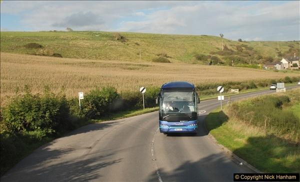 2017-09-22 X54 Bus to Weymouth.  (352)352