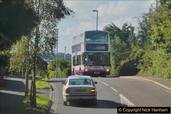 2017-09-22 X54 Bus to Weymouth.  (58)058