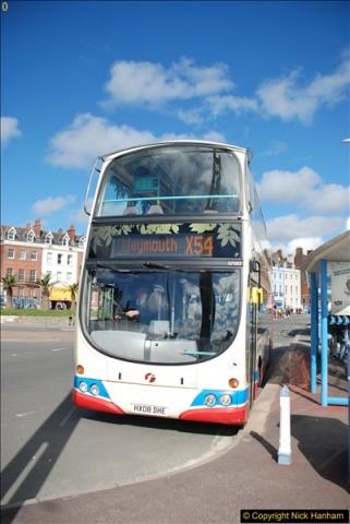 2017-09-22 X54 Bus to Weymouth.  (79)079