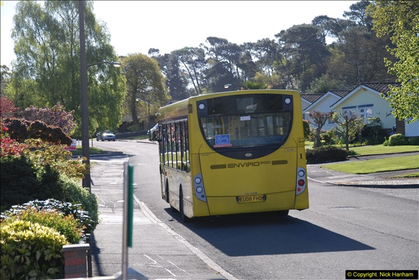 2015-04-27 First Bus route on your Host's Road.  (26)026
