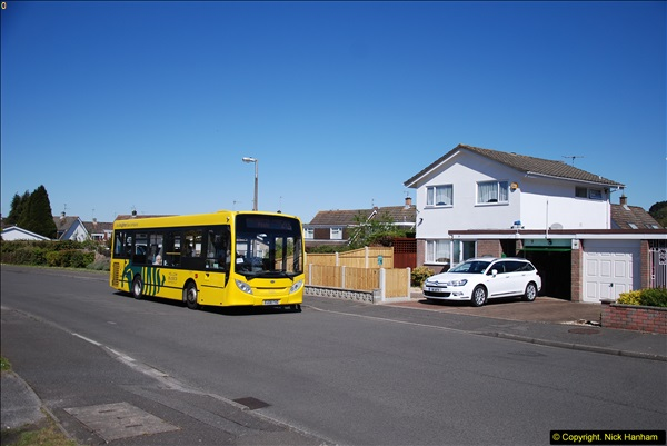 2015-04-27 First Bus route on your Host's Road.  (28)028