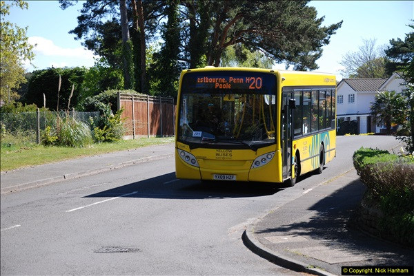 2015-04-27 First Bus route on your Host's Road.  (33)033