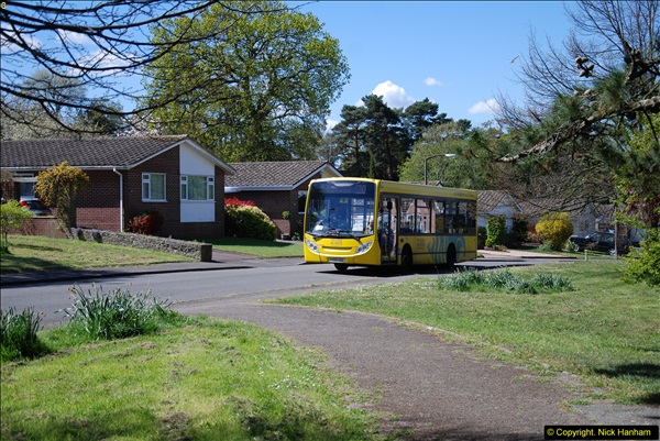 2015-04-27 First Bus route on your Host's Road.  (38)038