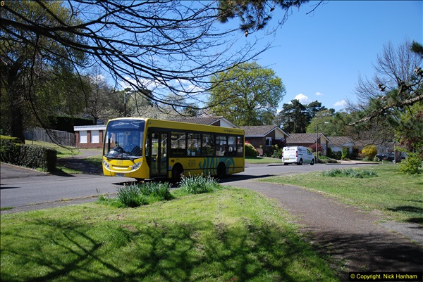 2015-04-27 First Bus route on your Host's Road.  (39)039