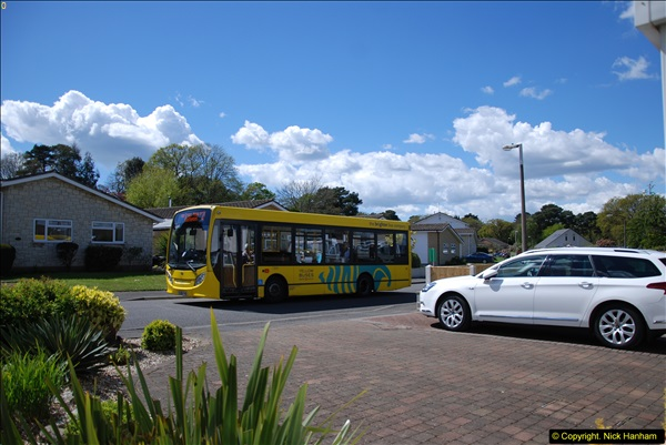 2015-04-27 First Bus route on your Host's Road.  (41)041