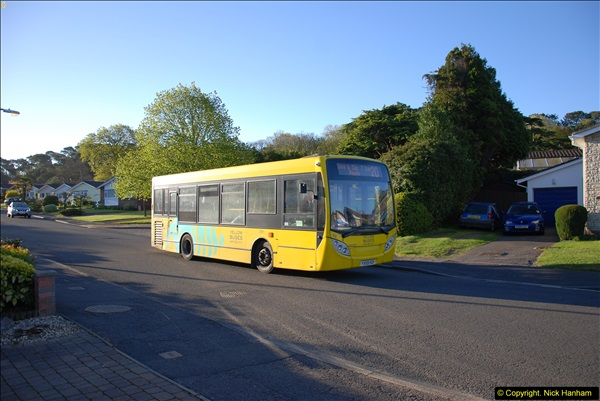 2015-04-27 First Bus route on your Host's Road.  (7)007