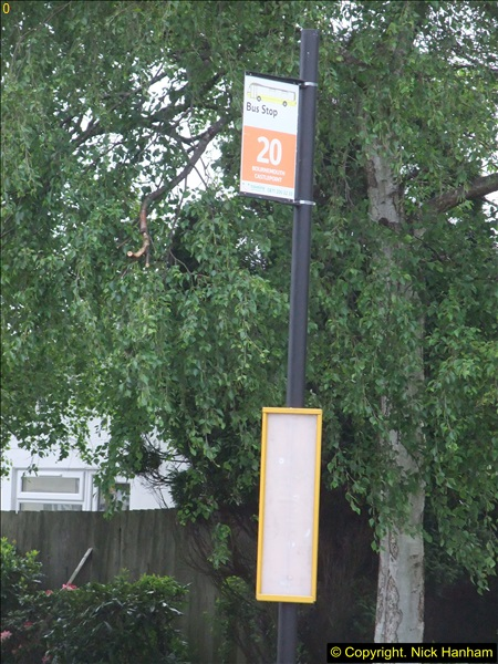 2015-05-15 New bus stops on the Route 20 near your Host's home.  (4)090
