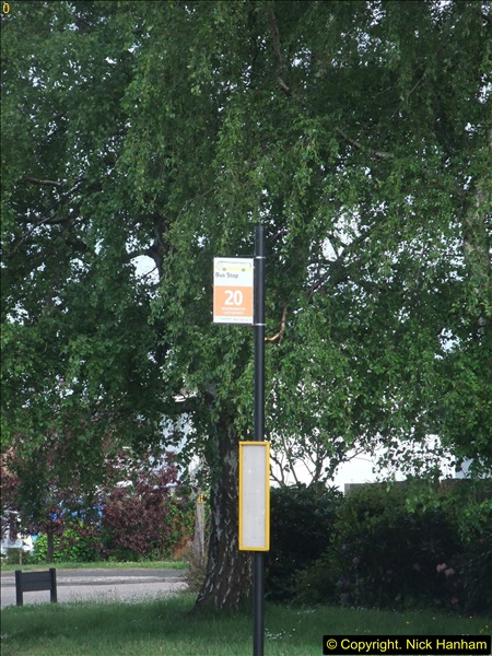 2015-05-15 New bus stops on the Route 20 near your Host's home.  (8)094