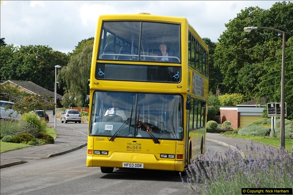 2015-09-17 The first time we have a double decker on the 20 route.  (3)097