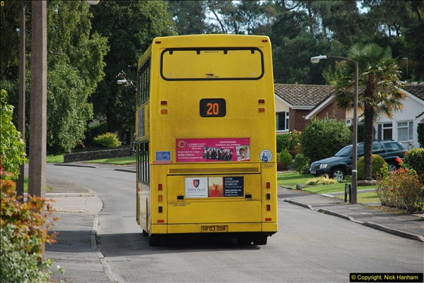 2015-09-17 The first time we have a double decker on the 20 route.  (5)099