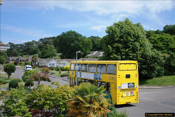 2017-06-03 A rare double decker on our now D1 service.   (16)145