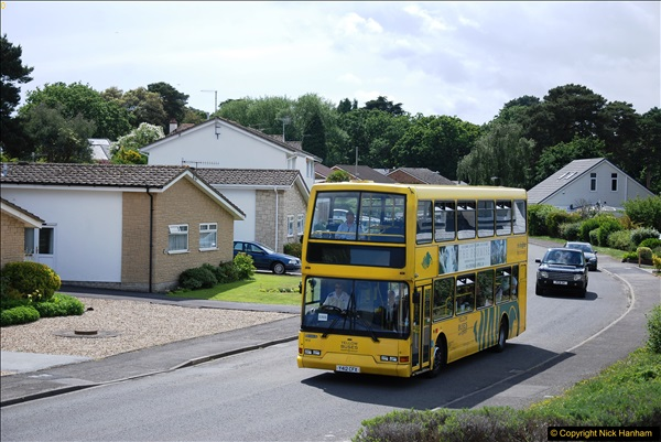 2017-06-03 A rare double decker on our now D1 service.   (7)136