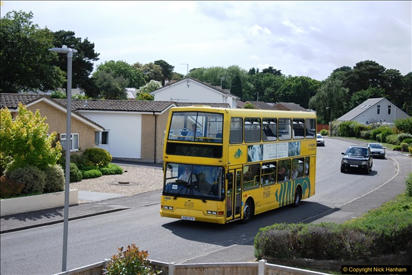 2017-06-03 A rare double decker on our now D1 service.   (8)137
